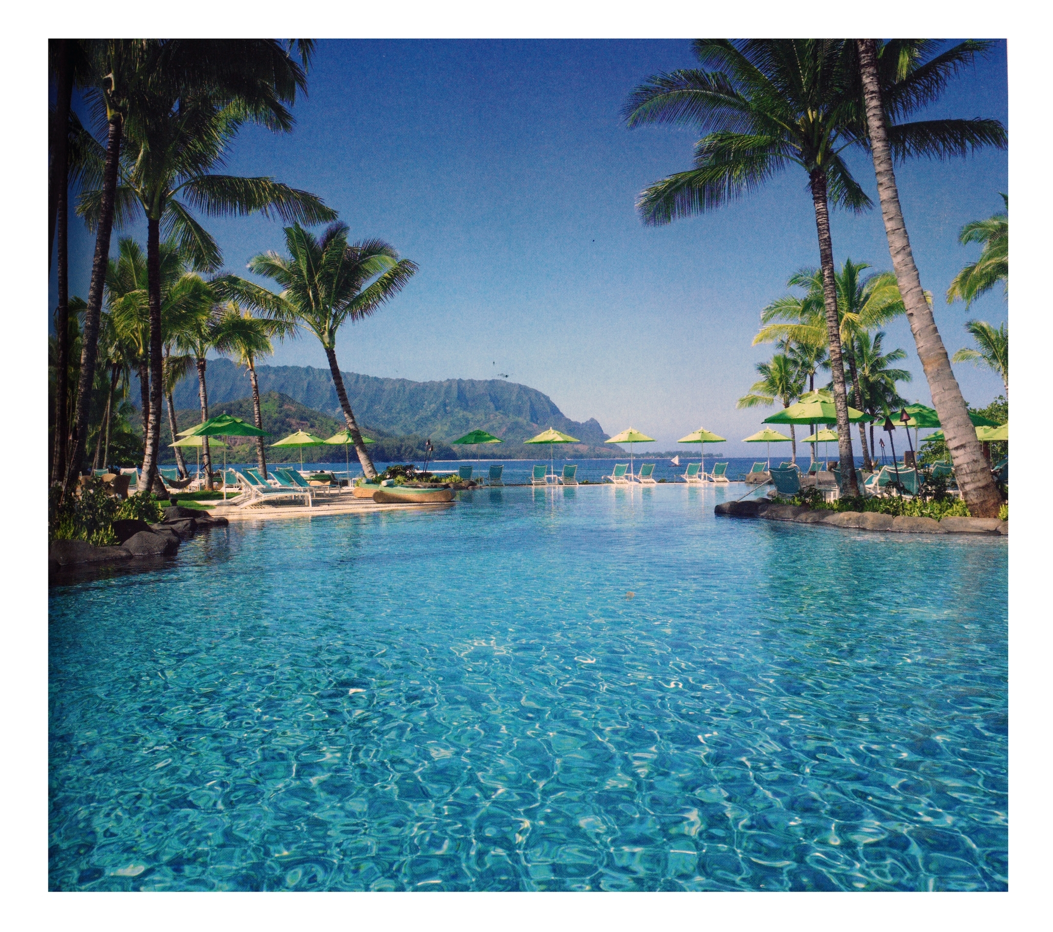 St. Regis, Princeville, Kaua'i, Hawaii    Image: American Express Fine Hotels & Resorts Travel Guide, 2014