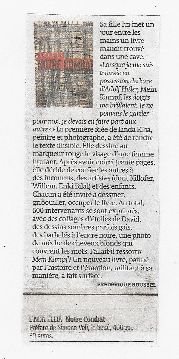 Article paru dans Libération