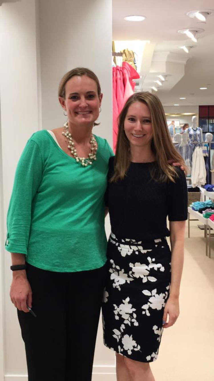 Supporting The Fashion Foundation at Talbots