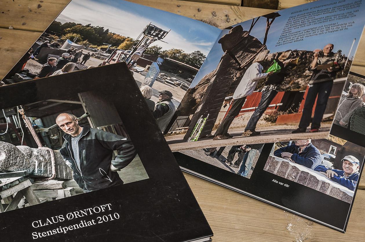 Fotobok om skulptör Claus Örntoft