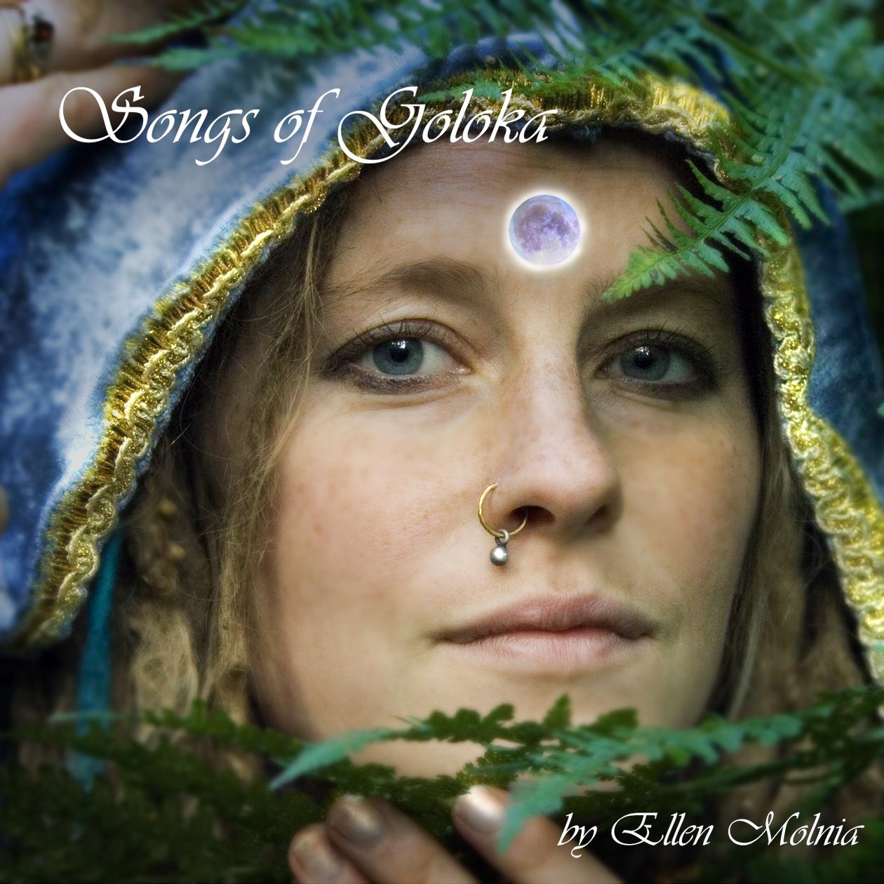 CD-omslag för Ellen Molnia