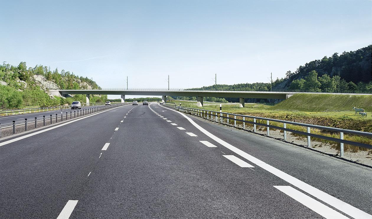 Planerad trafikplats, Infart Strömstad