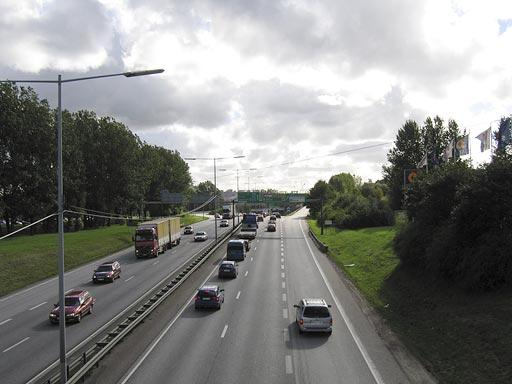 Marieholm idag med Tingstadstunneln i fjärran