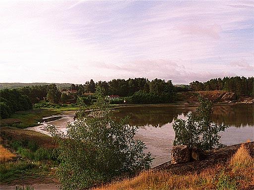 Uddevallabron innan bygget