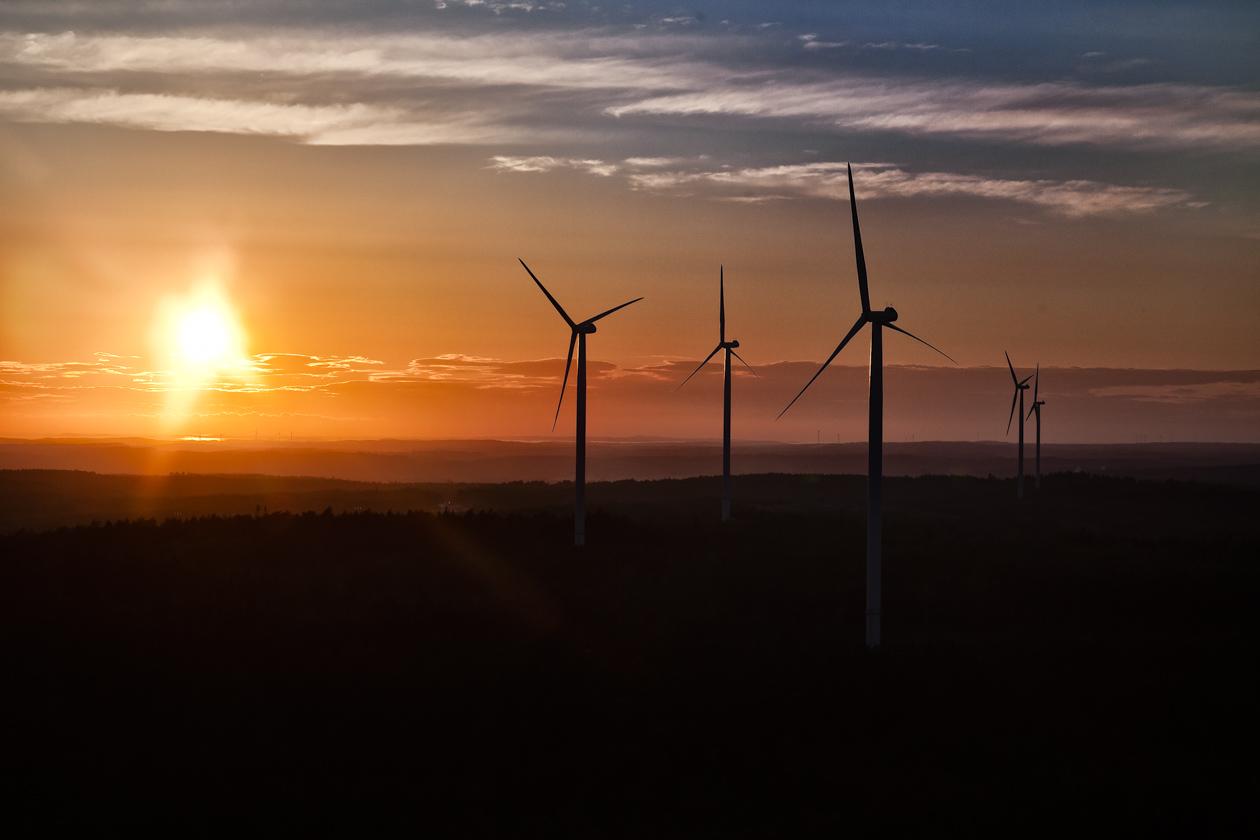 Vindkraftverk i Rabbalshede