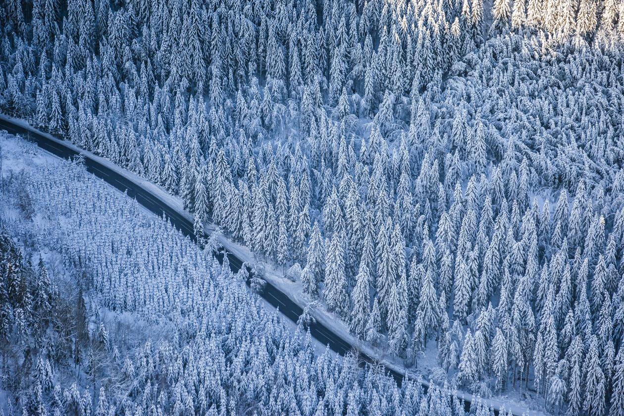 Vinter nära Lilla Edet