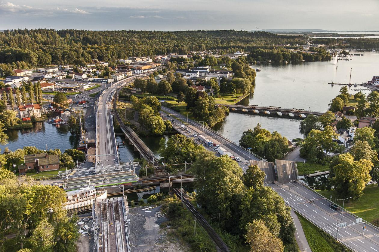 Göta Kanal, Motala