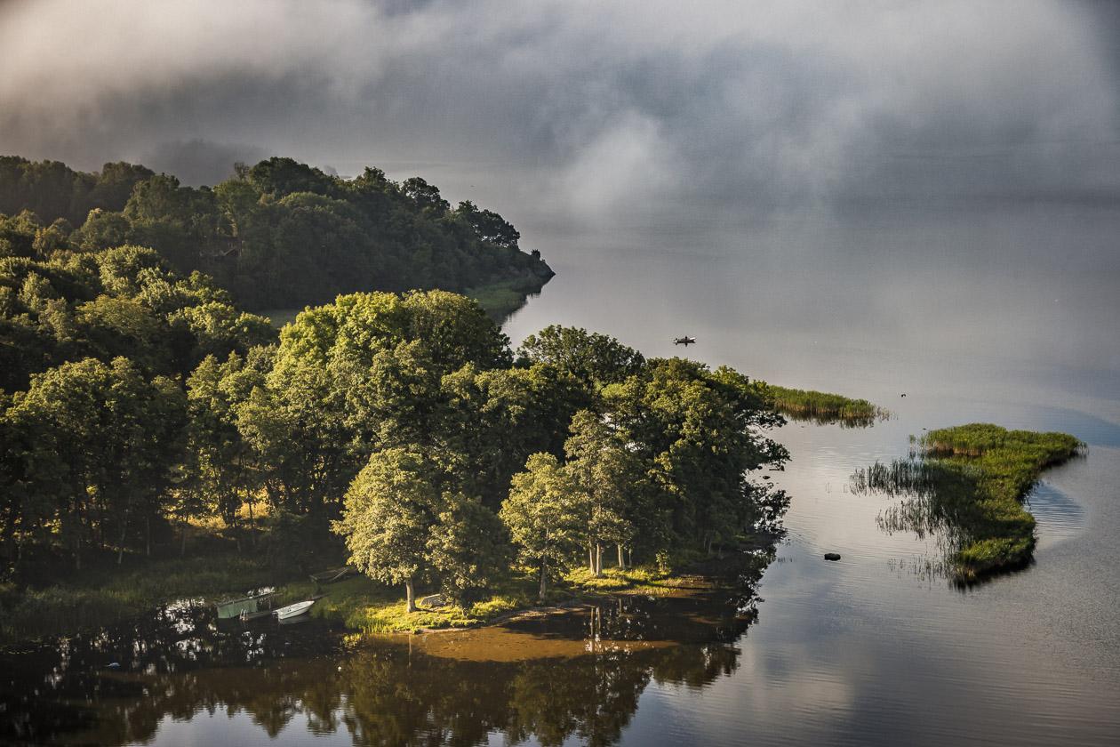 Sjön Anten, Gräfsnäs
