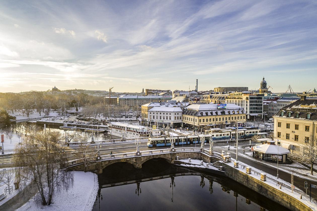 Kungsportsplatsen i Göteborg