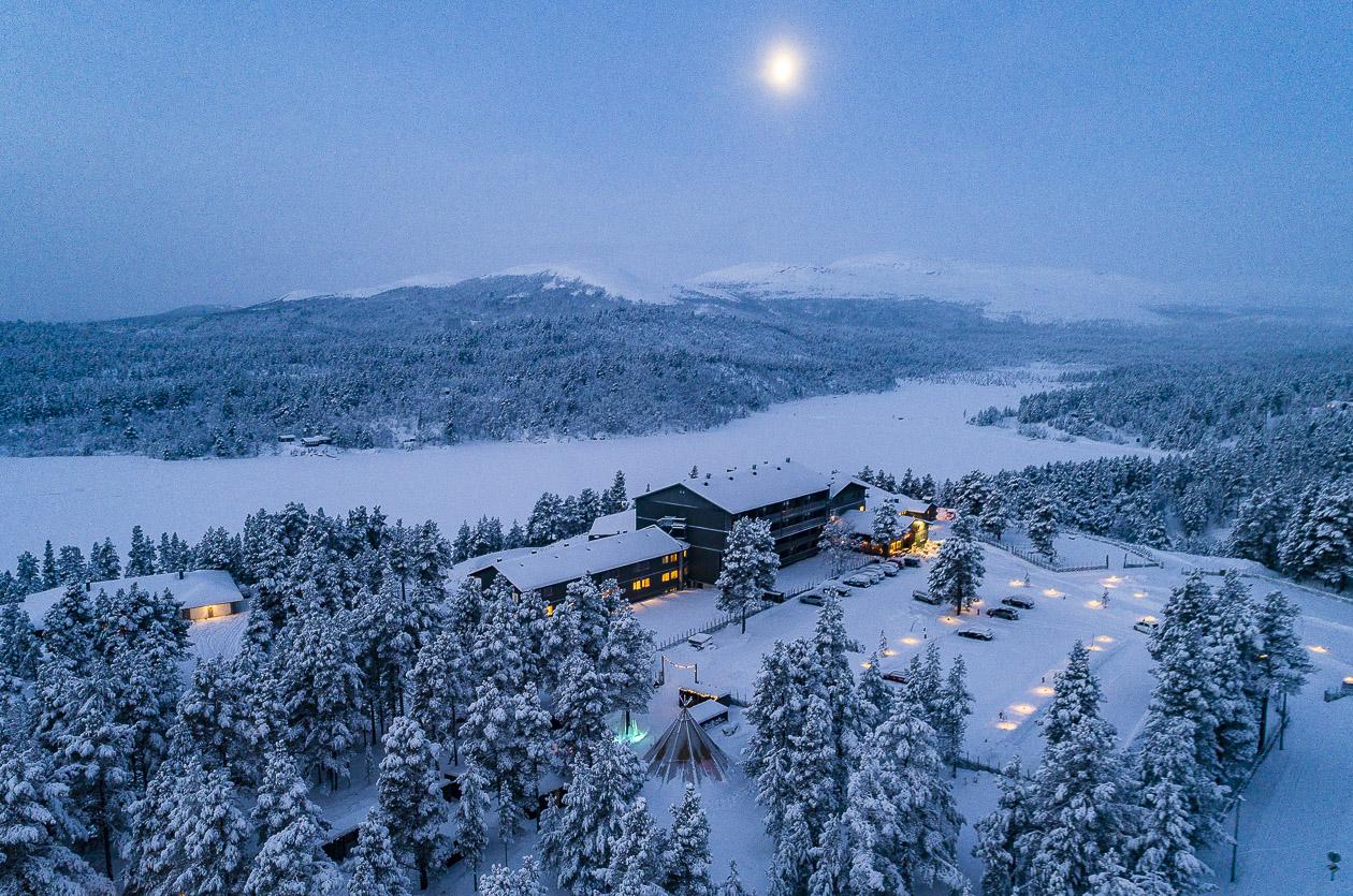 Savalens högfjällshotell i Norge
