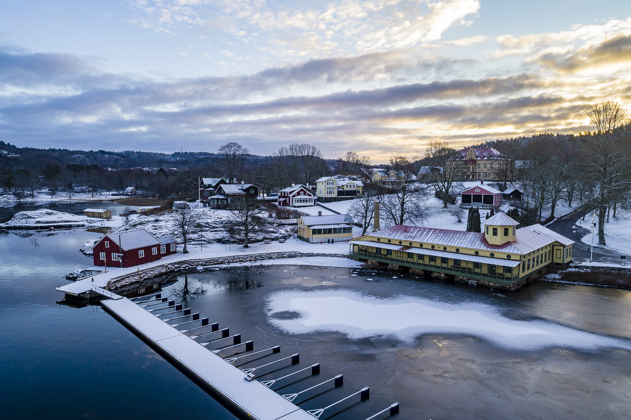 Gustavsbergs kallbadhus, Uddevalla