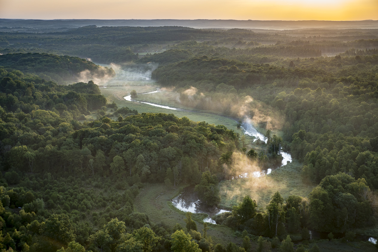Rönne å i Skåne