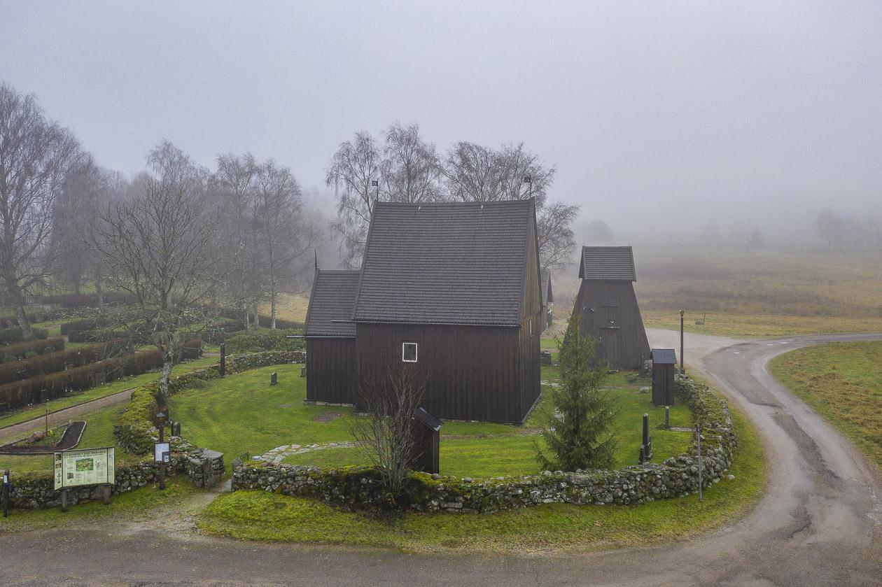 Hedareds stavkyrka från medeltiden