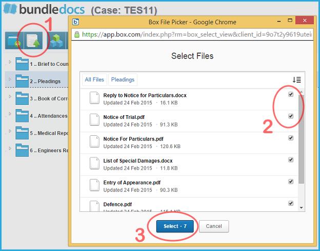 Bundledocs Box Integration