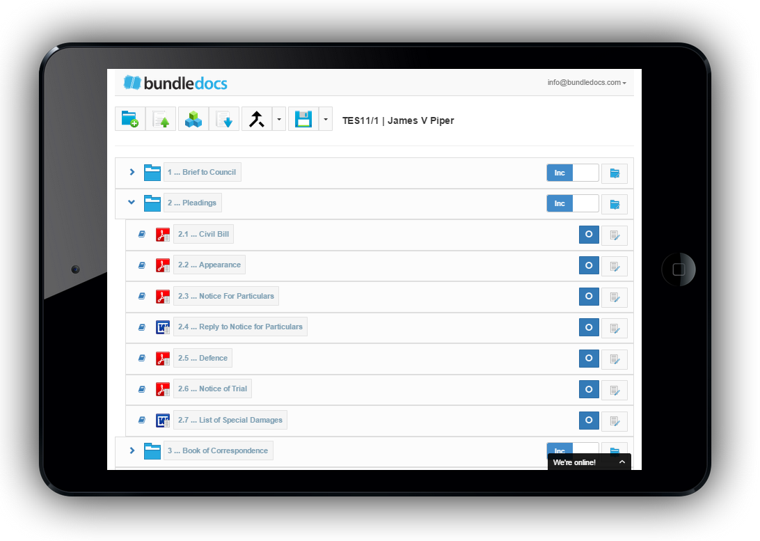 Bundledocs New App is available on any device