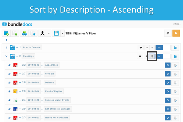 Bundledocs_Sort_Documents_By_Description_Ascending.png