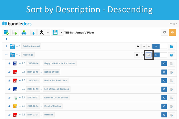 Bundledocs_Sort_Documents_By_Description_Descending.png