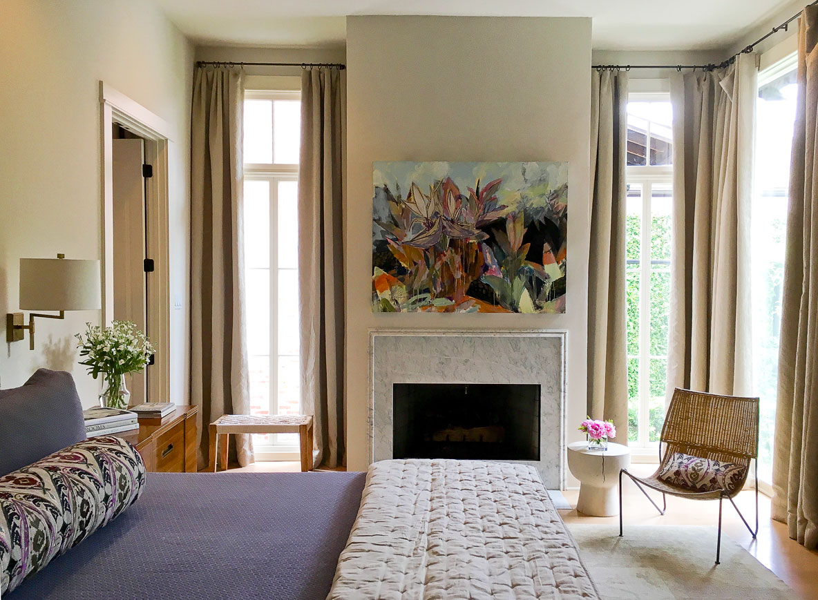 Designer Colleen Waguespack has a gift for creating warm spaces with original art.