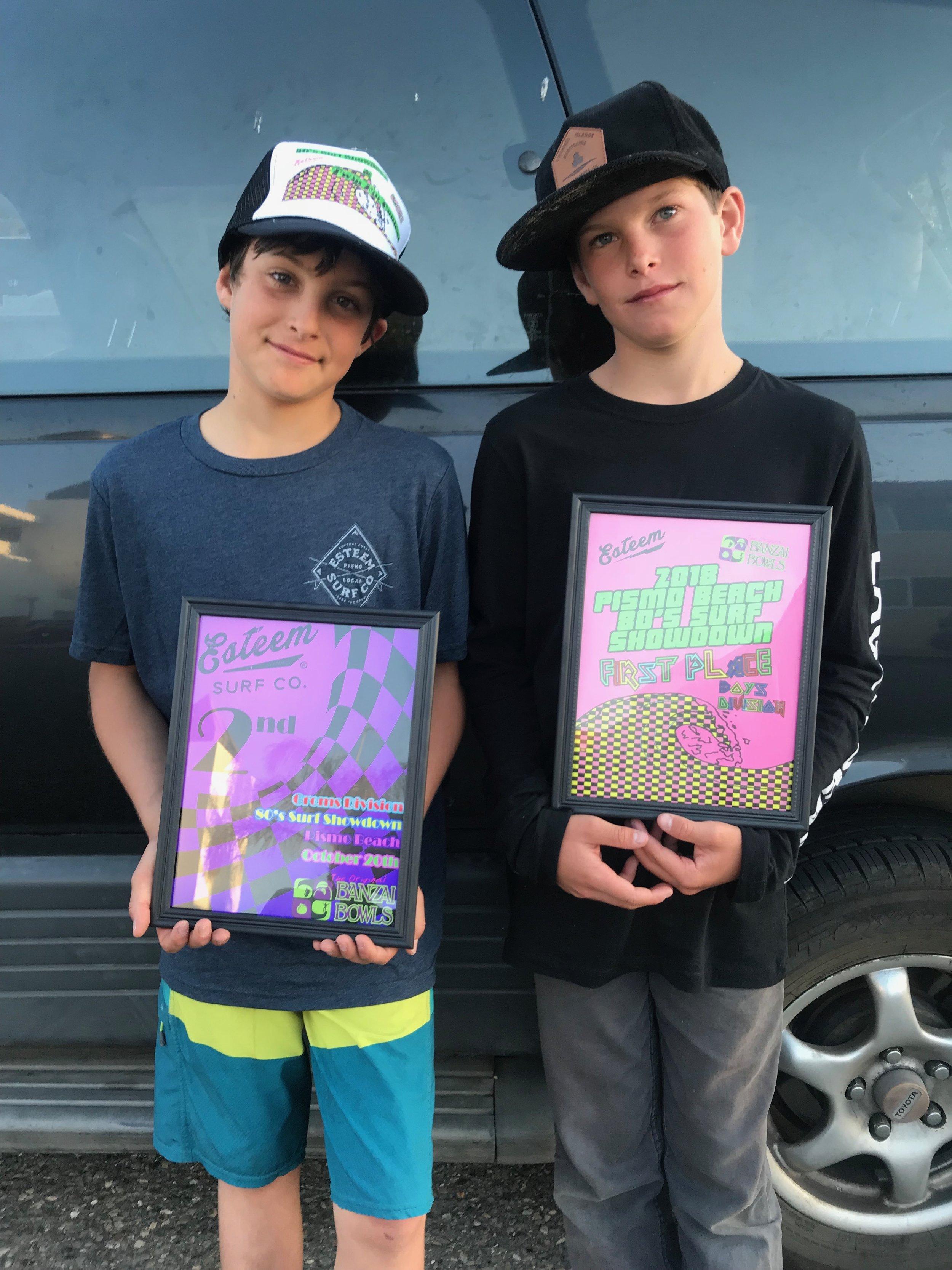 Elijah and Micah Acosta Team CCSURF