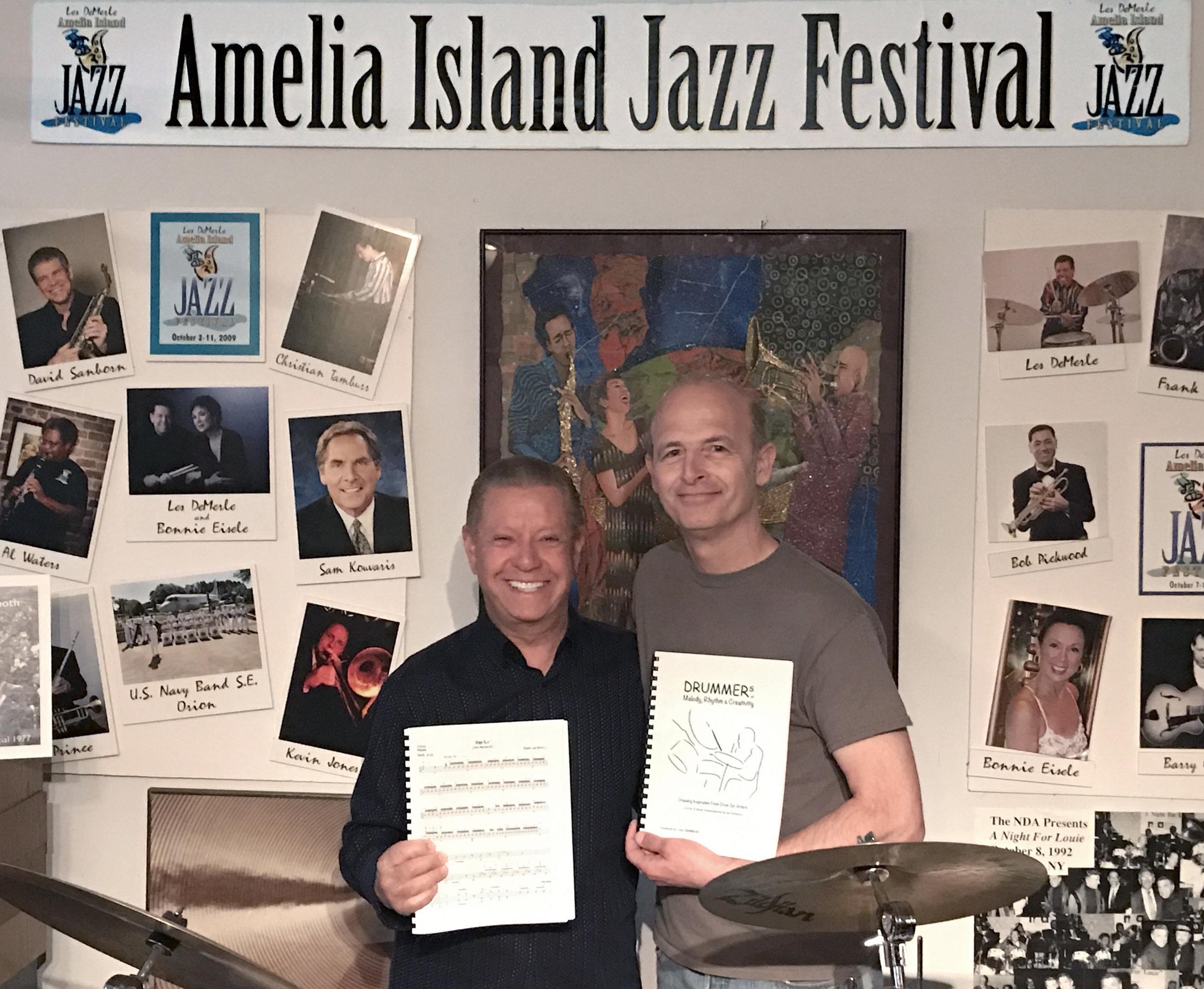 Les DeMerle Amelia Island Drum Studio