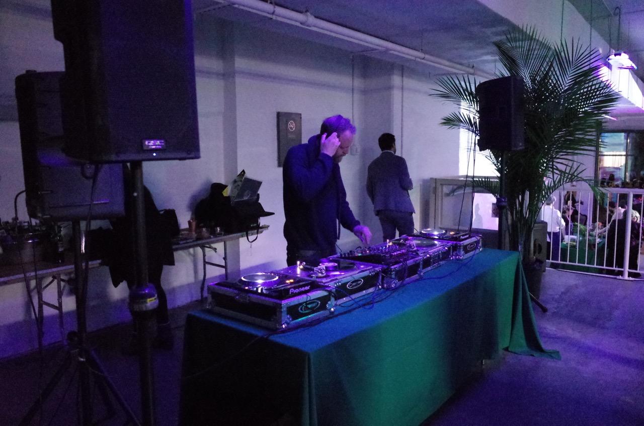Pat Mahoneyof LCD Soundsystem DJ'd