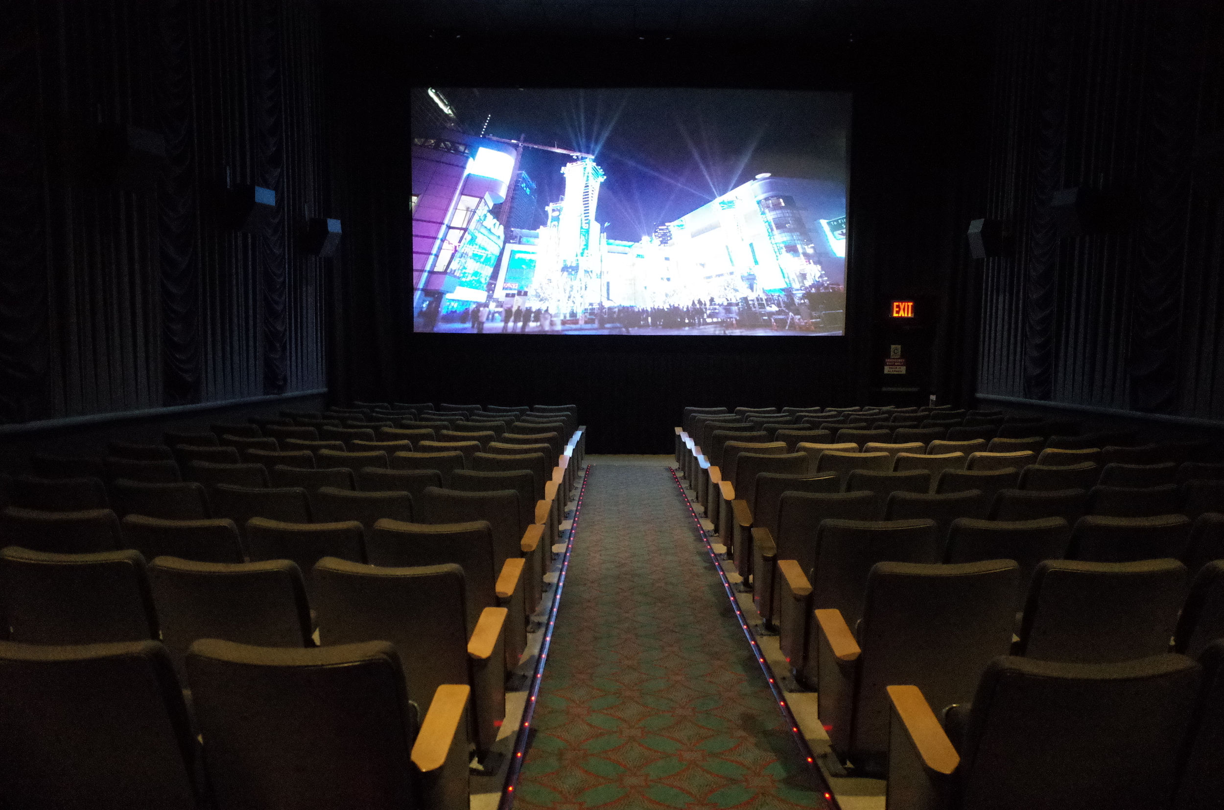 Top floor of the 3rd avenue AMC. How long could someone live up here before anyone noticed?