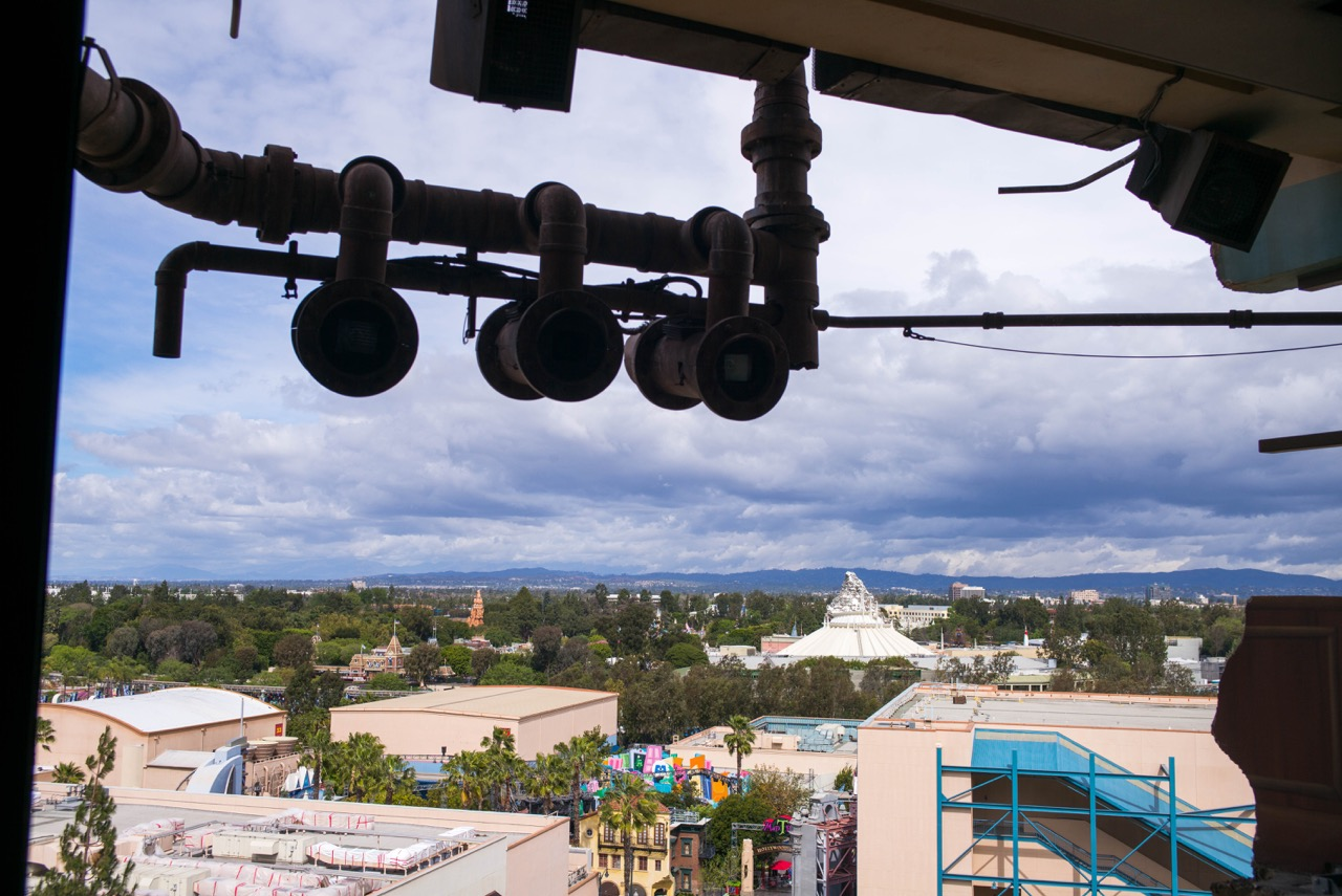 The view from just before the drop