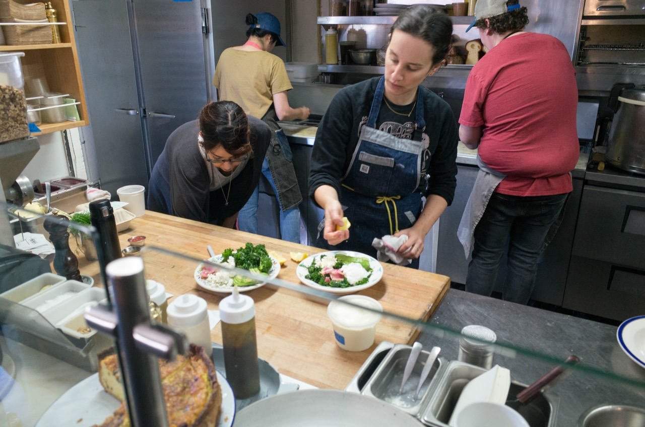That woman right there is Jessica Koslow, the chef mastermind behind Sqirl.