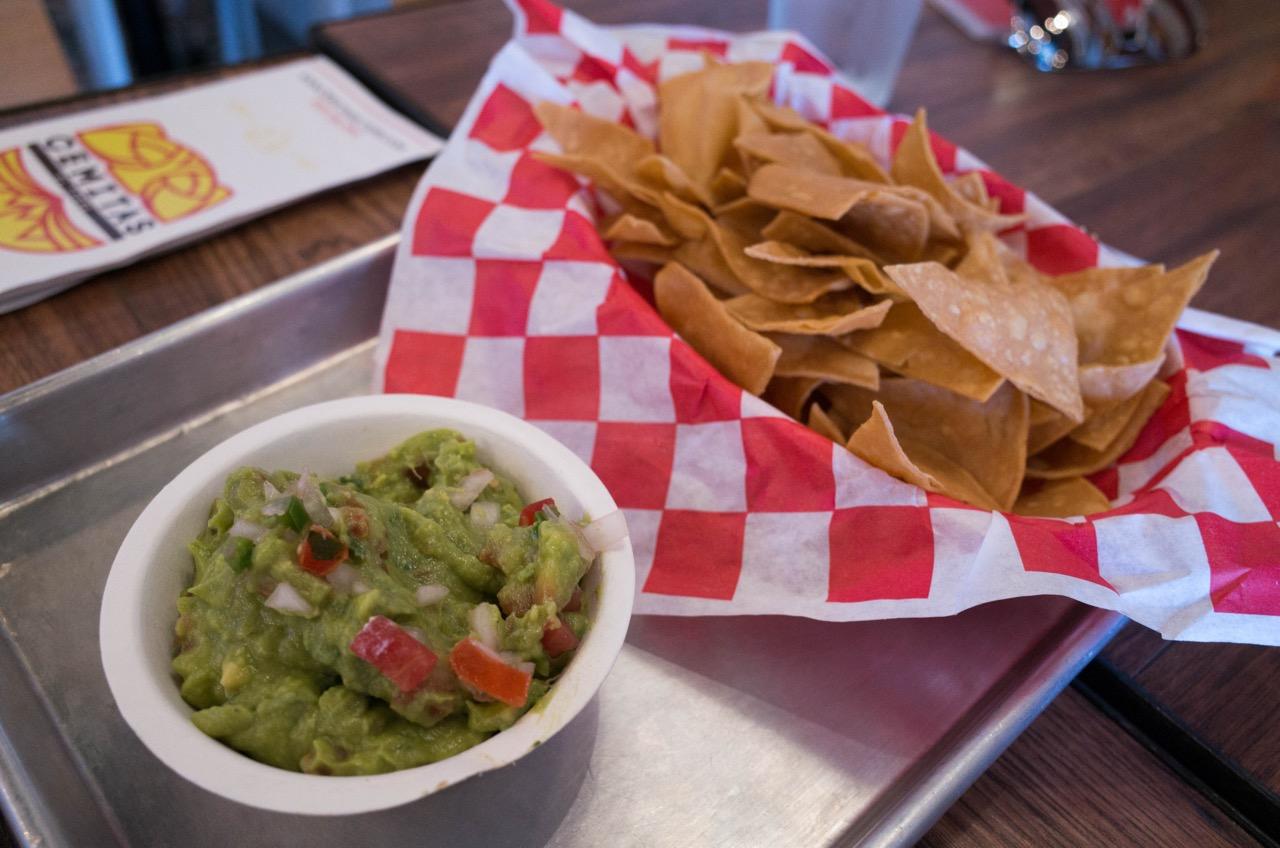 Very decent fish taco.