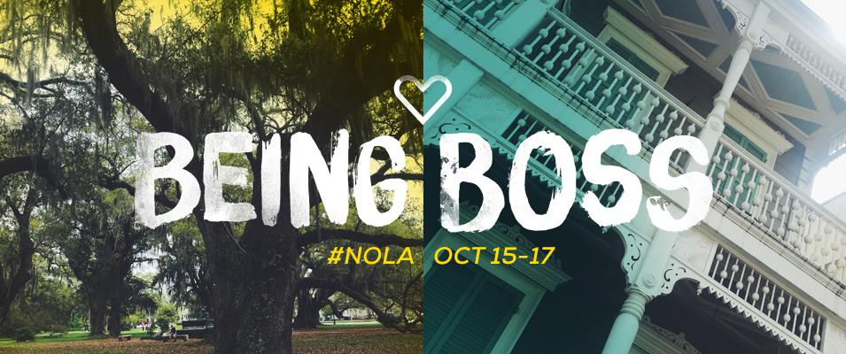 October 15 - 18, 2015   Experience: Being Boss  New Orleans, LA I shared breath and mindfulness moments at the Being Boss conference.  It was a very special weekend of master classes, podcasts and fabulous fun.