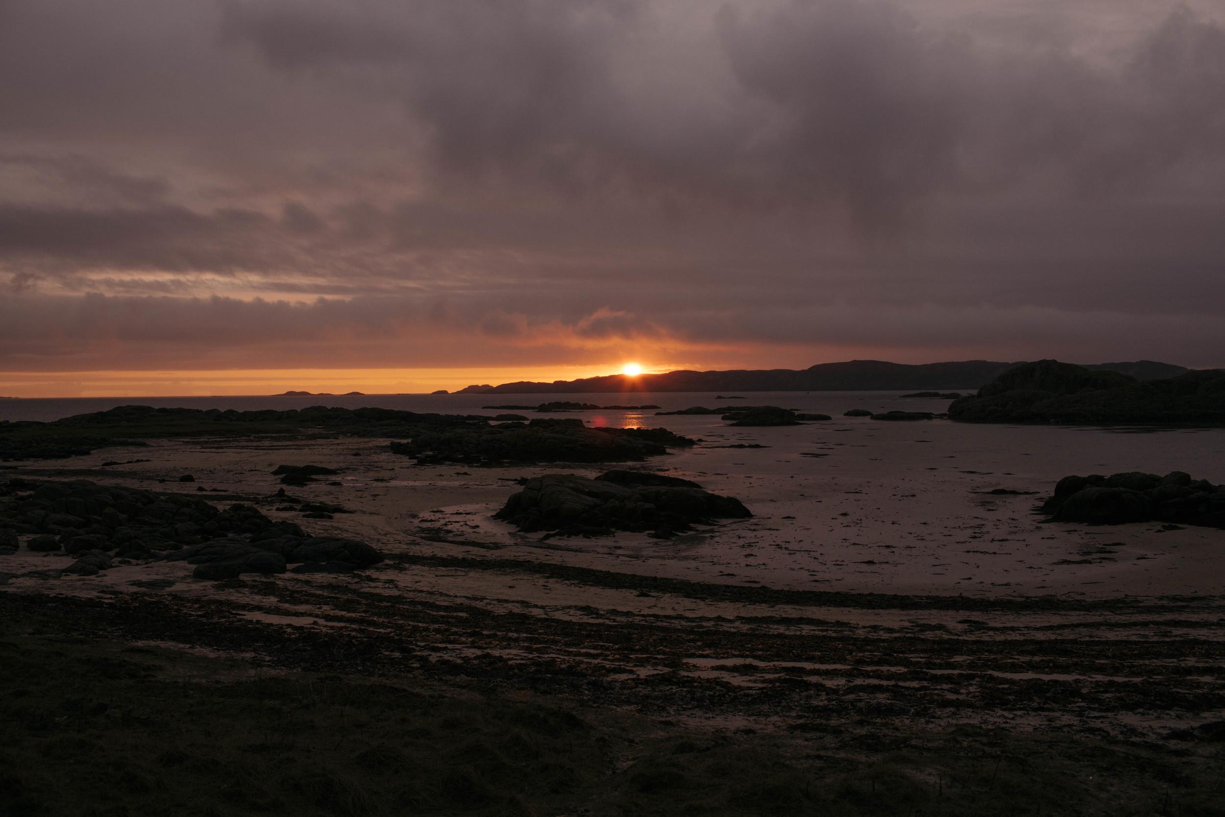 Isle of Mull Sunset