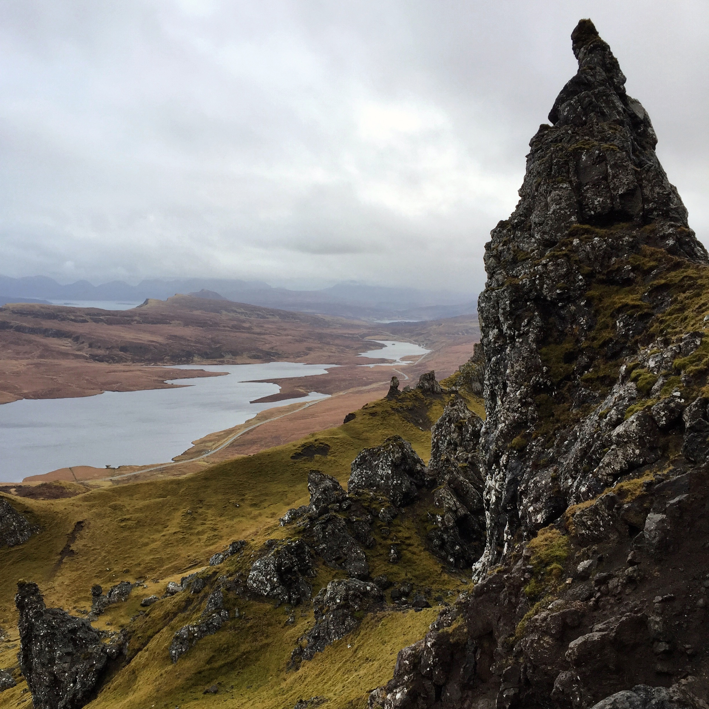 Isle of Skye, iPhone 6  Another example of adding foreground interest to give the viewer a sense of the vast scenery.