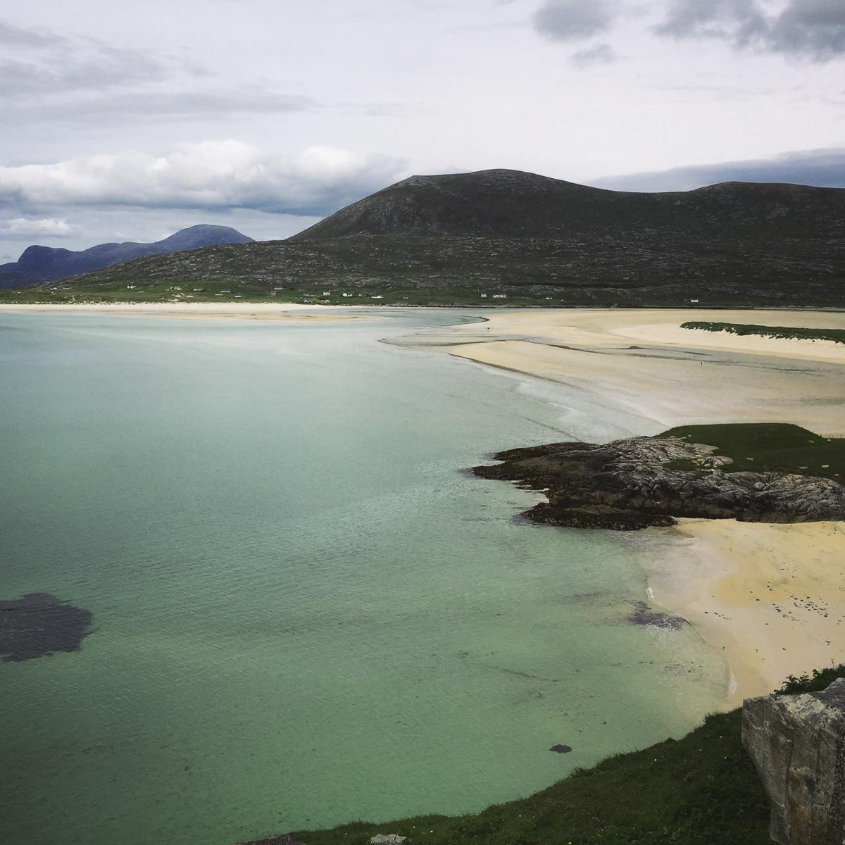Luskentyre Beach, Isle of Harris, iPhone 6