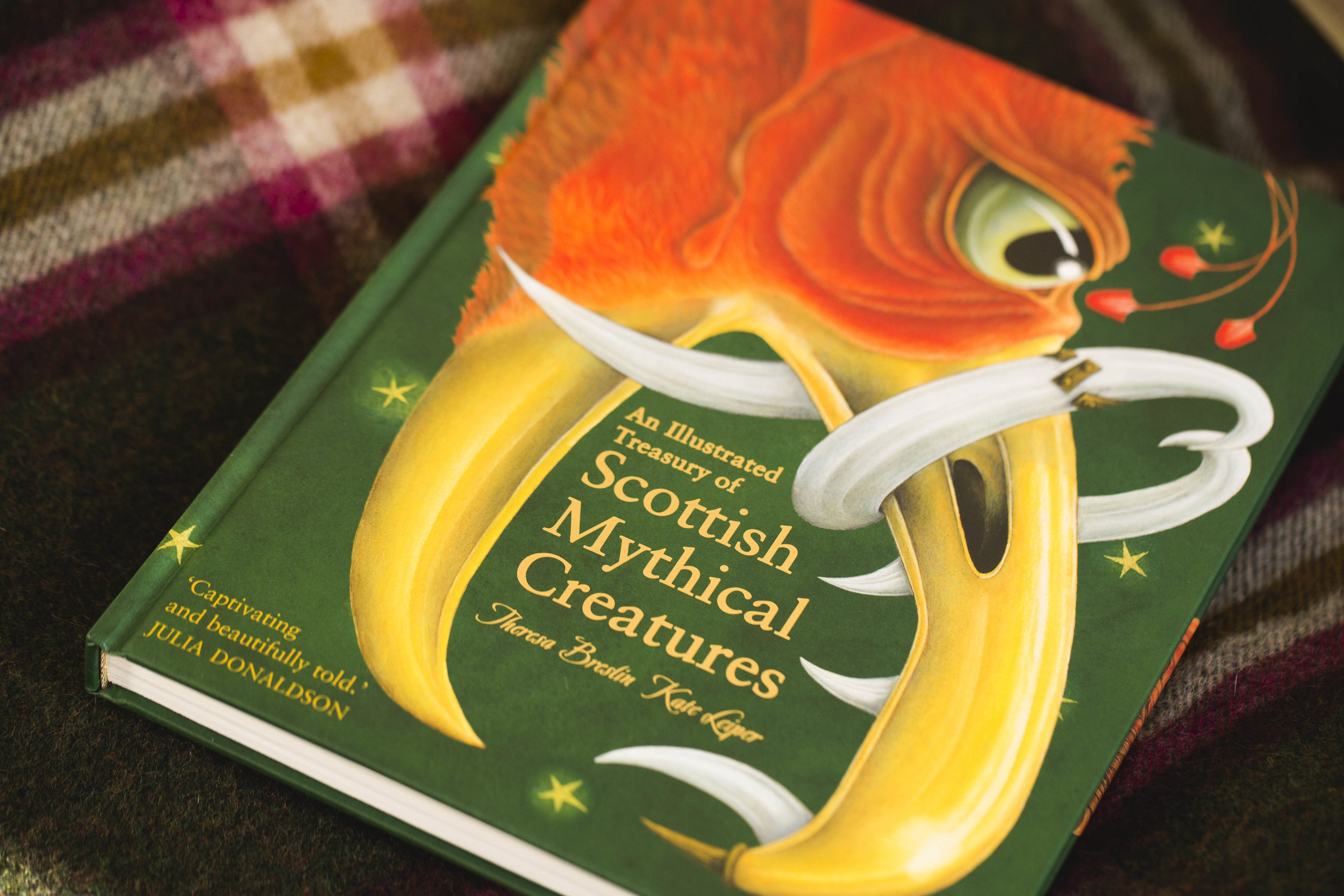 An Illustrated Treasure of Scottish Mythical Creatures