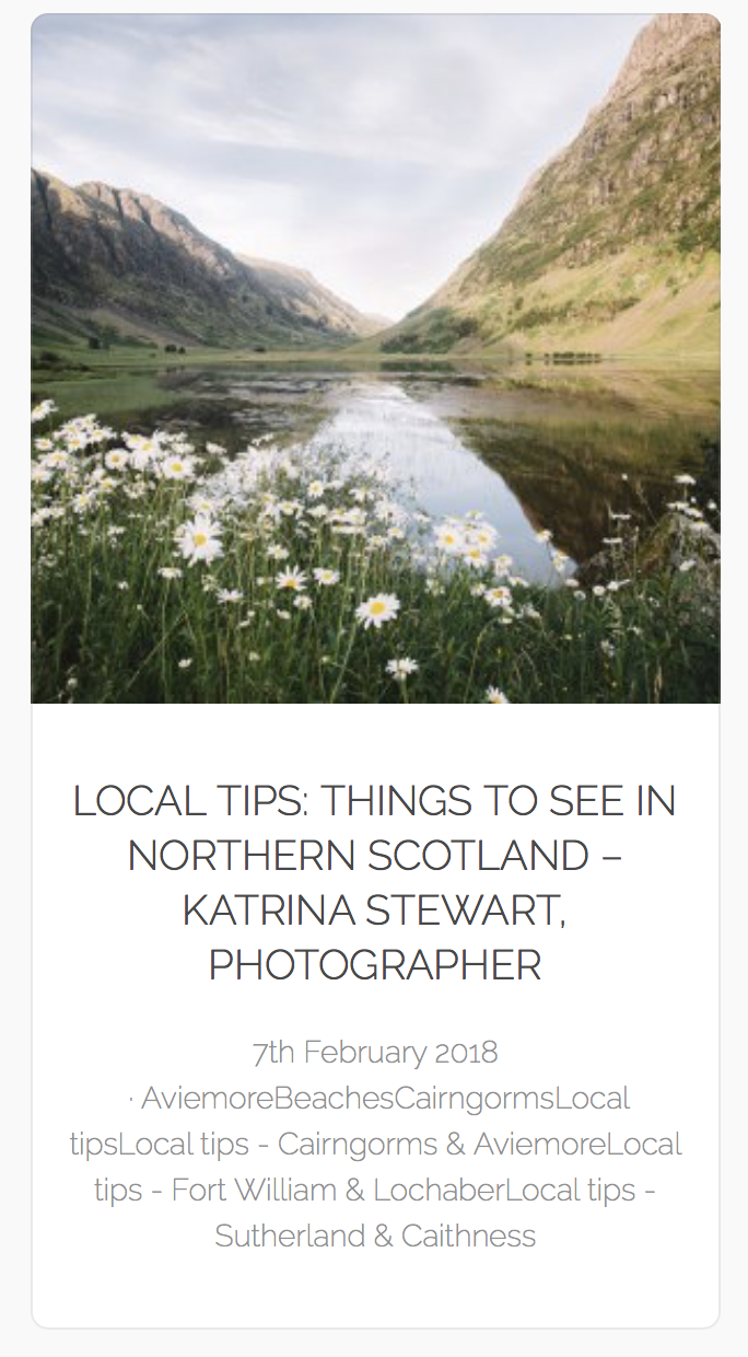 https://www.holidayscottishhighlands.co.uk/things-see-northern-scotland/