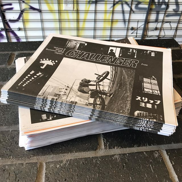 @challengerbmxmag Summer 2019 Japan issue is in and it's as free as ever. Stop by and grab one or head over to challengerbmxmag.com to get yourself a yearly subscription of DIY print sent to your doorstep every 3 months. . . #challengerbmxmag #215berks