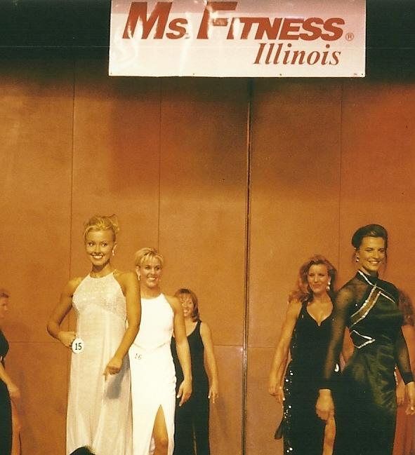 "Miss Fitness Illinois- Won the ""Image of Fitness"" award"