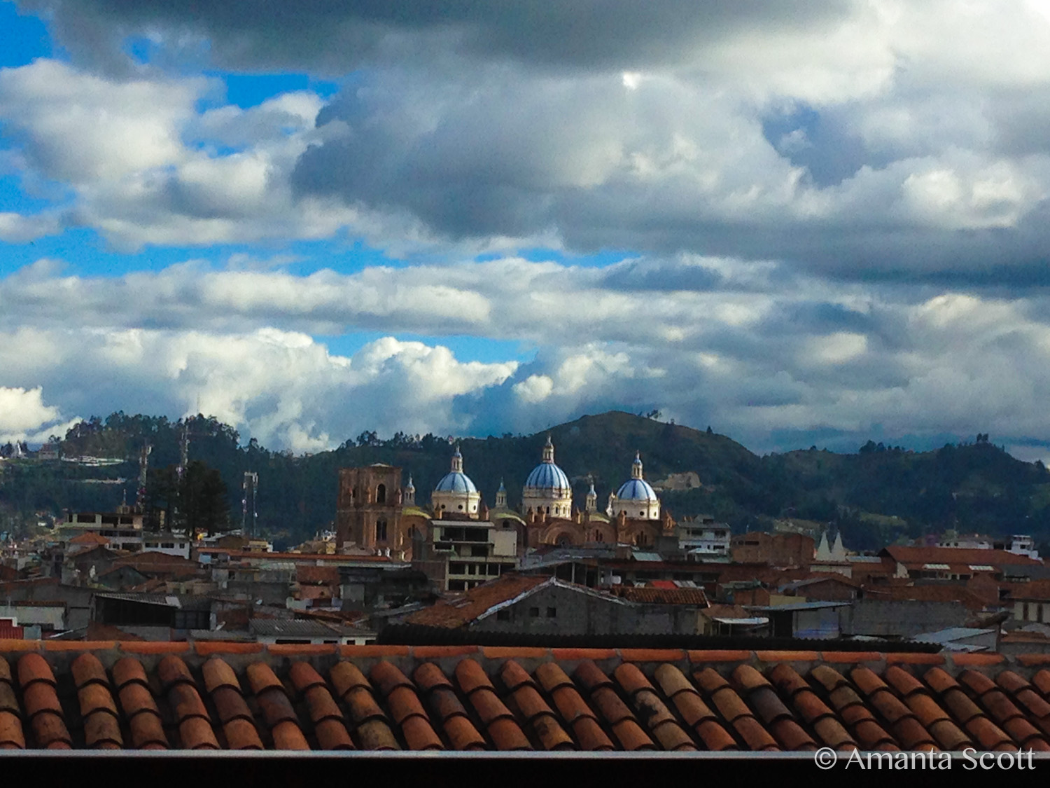 View of Cathedral, Cuenca