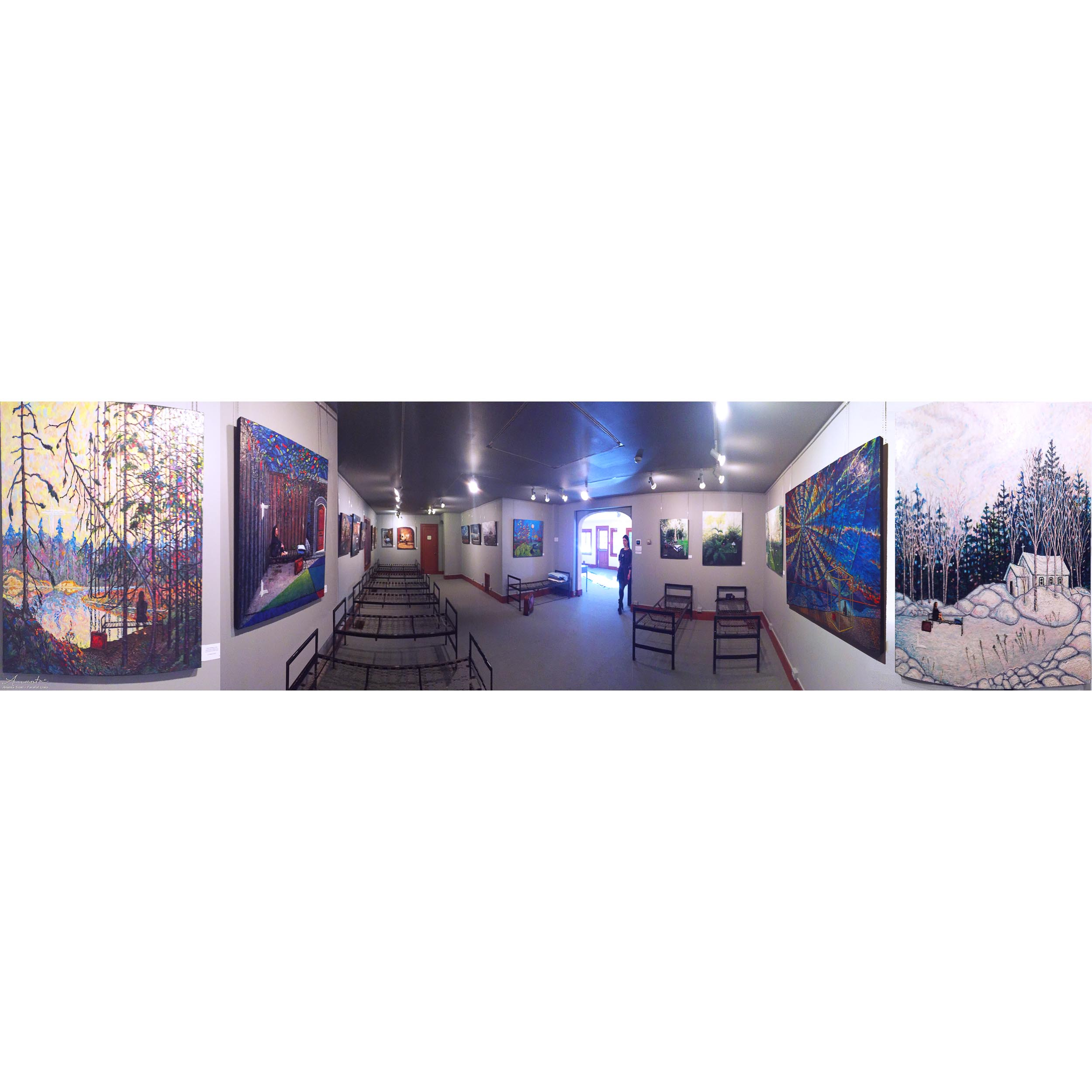 Parallel Lines exhibition panorama