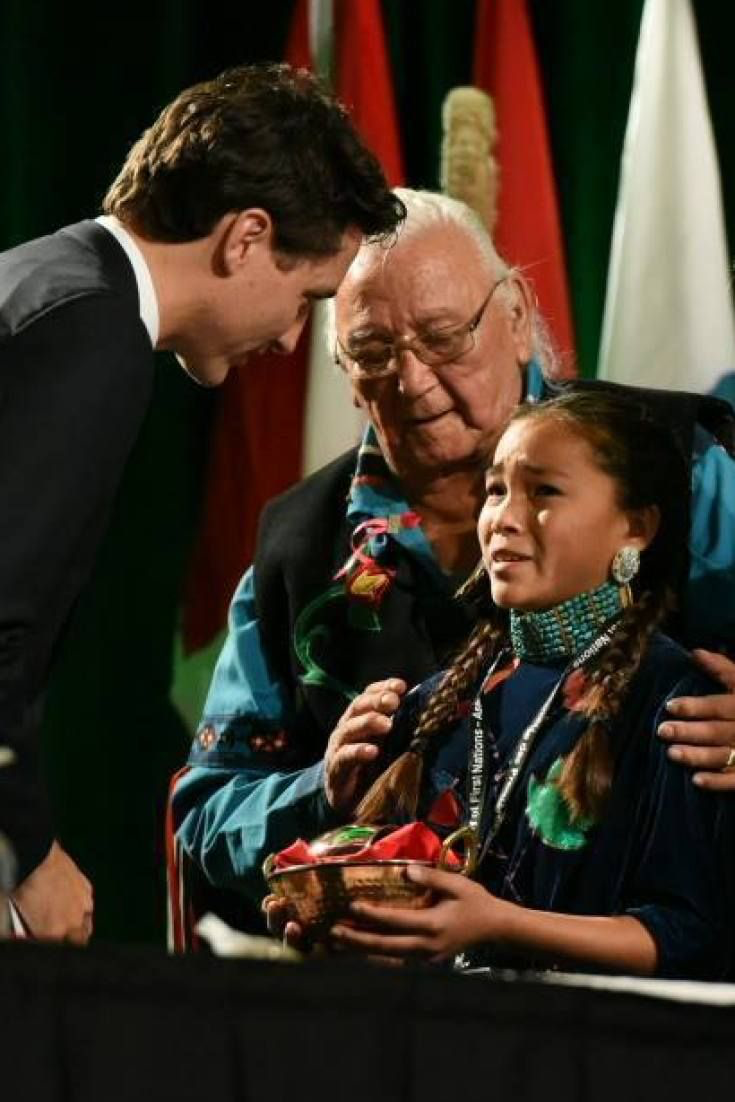 Autumn Peltier appeals to Prime Minister Trudeau to Protect Canada's Water