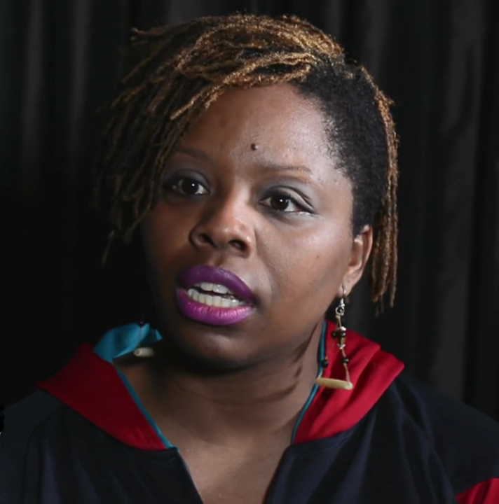 Photo By The Laura Flanders Show - Taking on the Sheriff with Art and Activism: Patrisse Cullors and Kai Lumumba Barrow, CC BY 3.0, https://commons.wikimedia.org/w/index.php?curid=50088905
