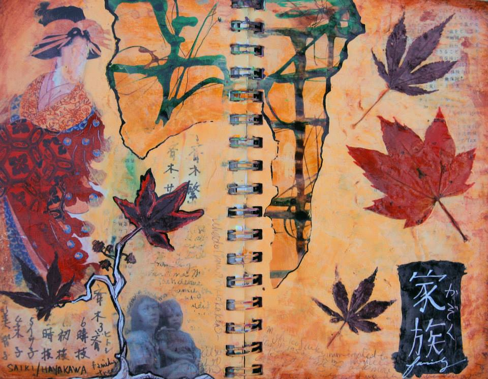 Kazouku (Family), Art Journal Page