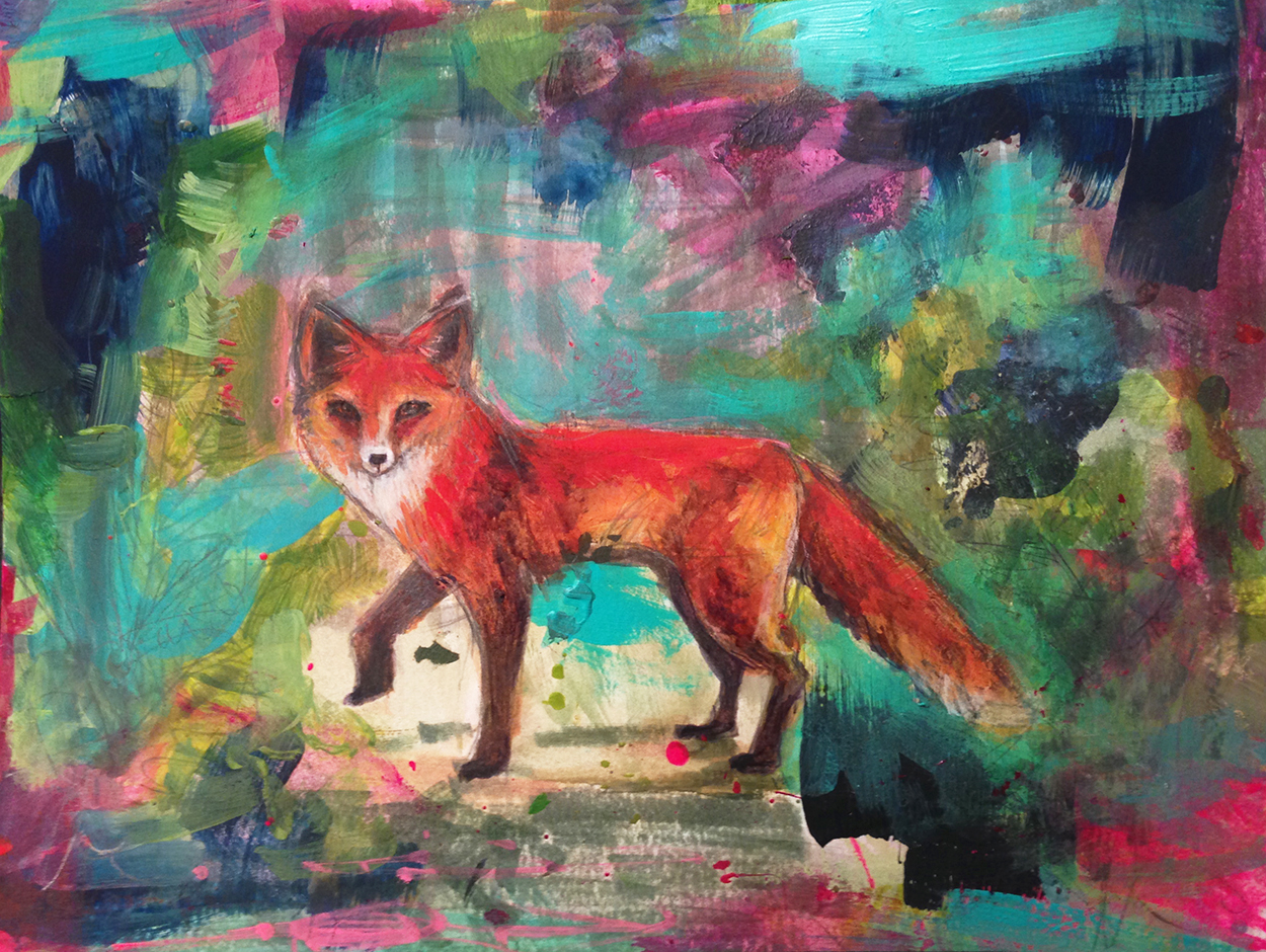 Walking Fox
