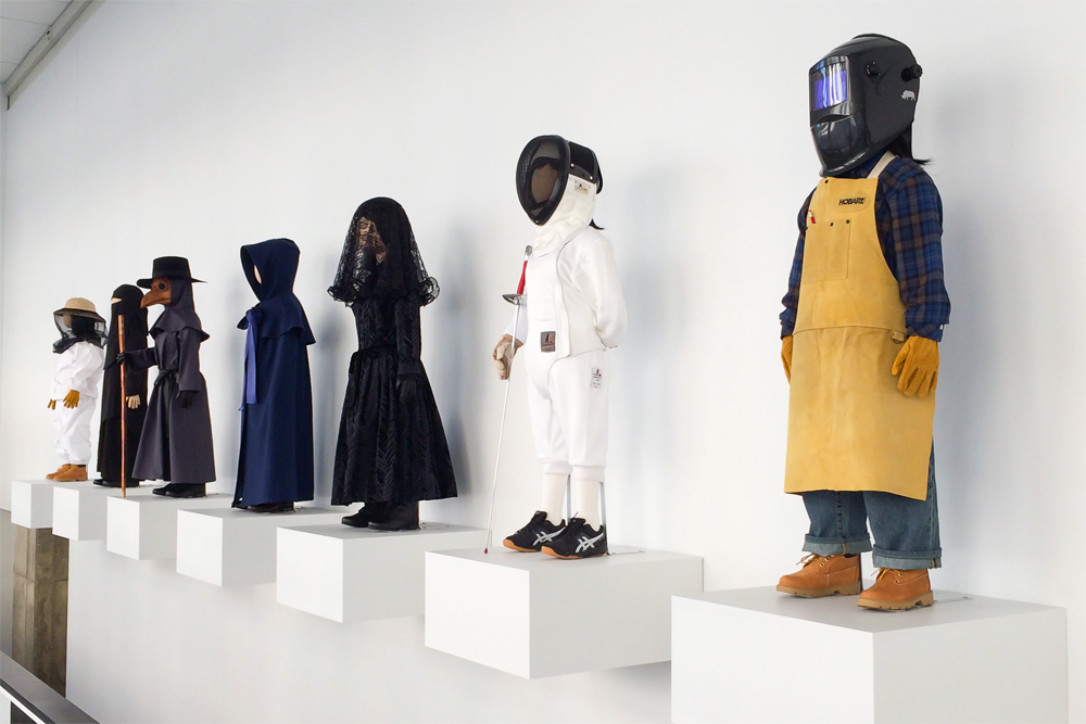 Installation view at the UICA in Grand Rapids, Michigan, 2015