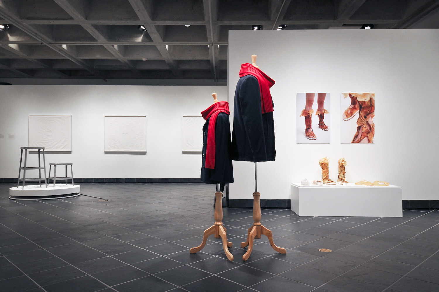 Installation view at Cantor Fitzgerald Gallery, 2012