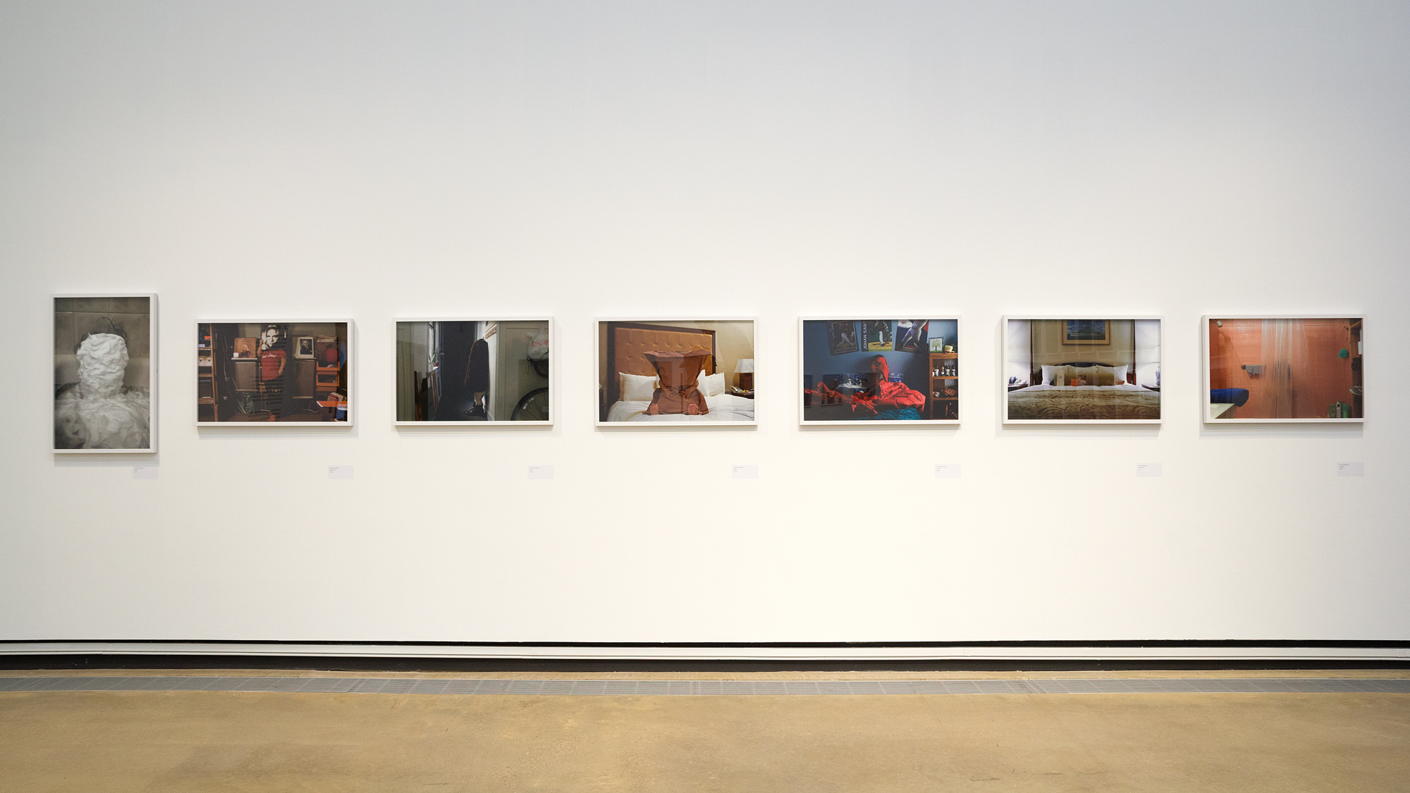 Installation view of Anti-Self-Portraits (2005 - 2008)