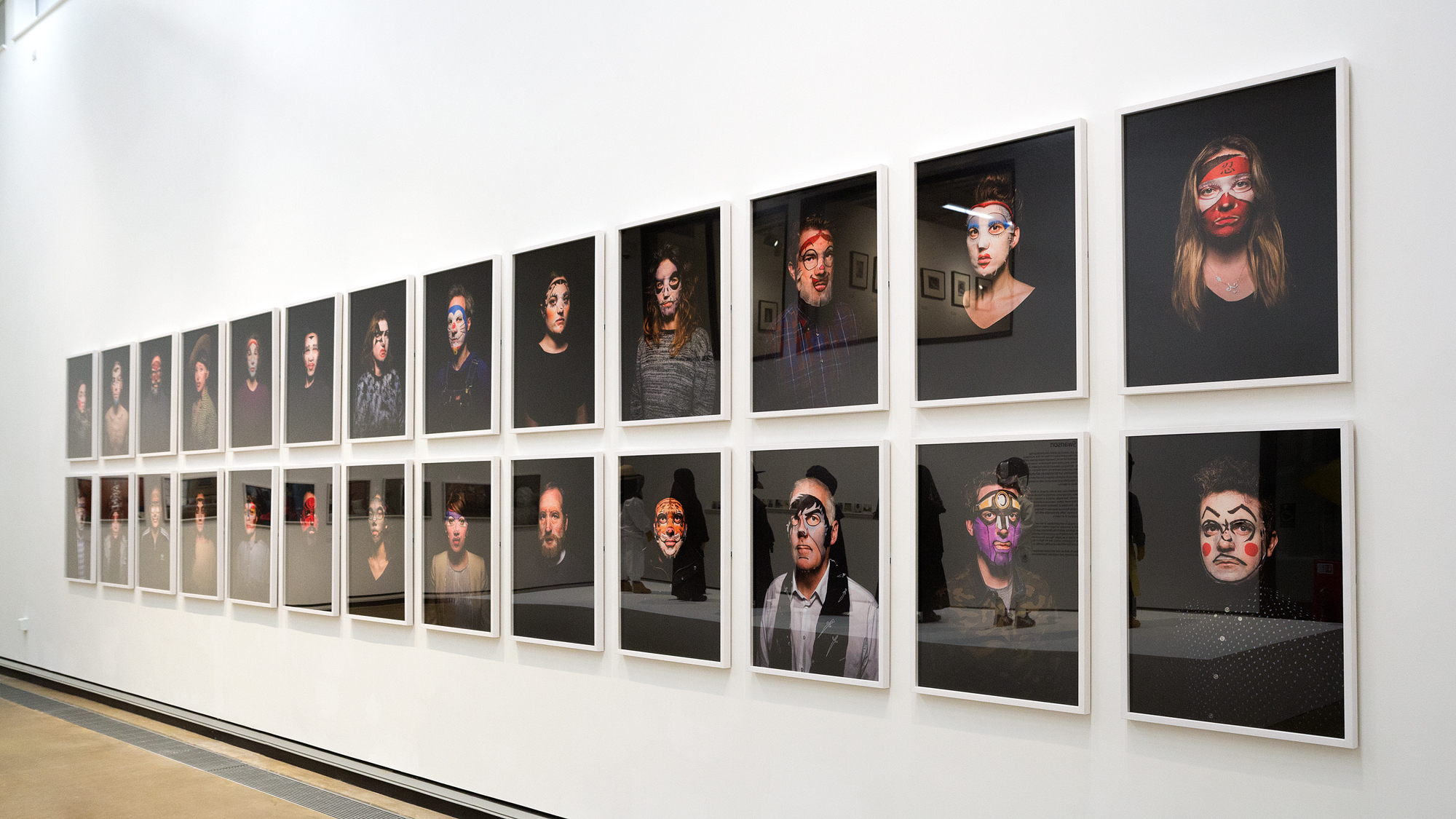 Installation view of Beauty (2017)