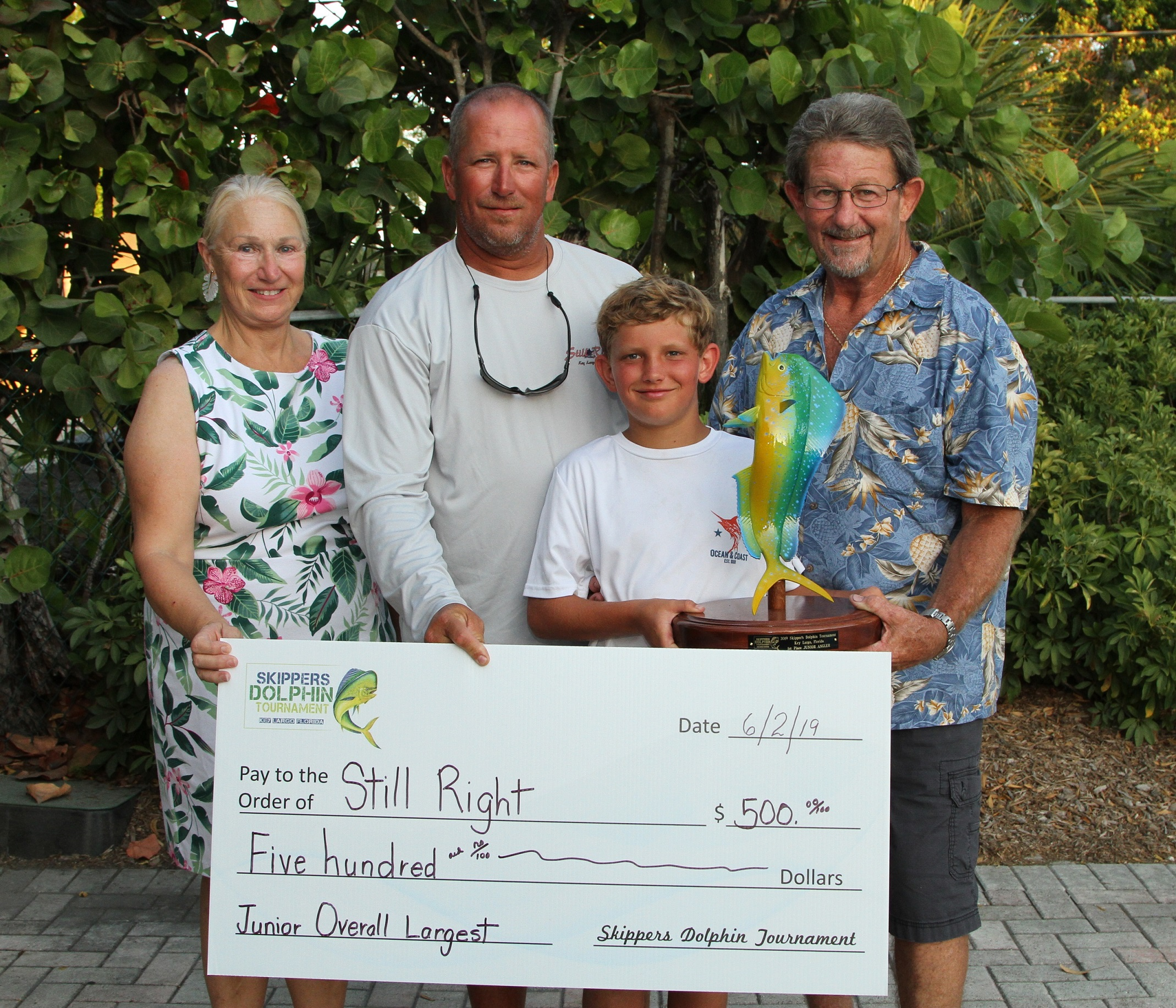 Top Jr. Angler - Still Right