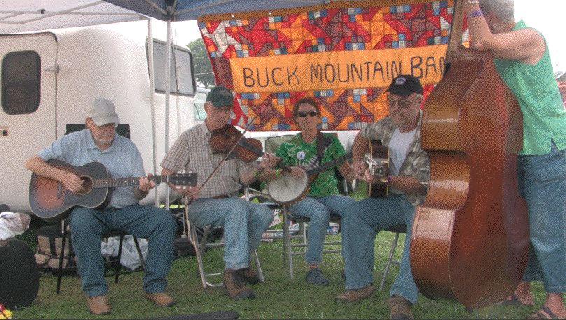 Campsite, Galax, Va., 2010