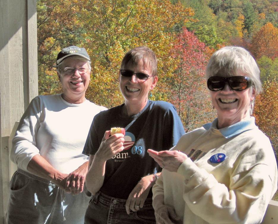 Debbie, Amy, Sue.  2008